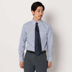 [マルイ]【セール】カラミ織りボタンダウン ストライプシャツ/フレディ&グロスター メンズ(FREDY&GLOSTER)