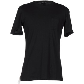 《期間限定 セール開催中》OFFICINA 36 メンズ T シャツ ブラック S コットン 100%