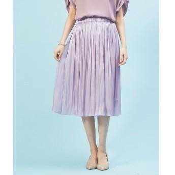 Rouge vif la cle / ルージュ・ヴィフ ラクレ 【定番新色】サテンギャザースカート2
