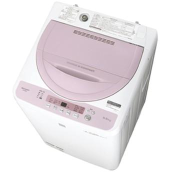 シャープ5.5kg全自動洗濯機keyword キーワードピンクESG5E5KP