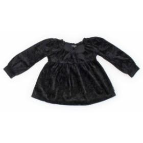【コムサイズム/COMMECAISM】Tシャツ・カットソー 90サイズ 女の子【USED子供服・ベビー服】(350322)