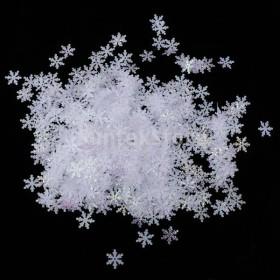 1000pcsの15ミリメートルの不織布クリスマススノーフレークテーブルの紙袋のconfettiのクリスマスの装飾