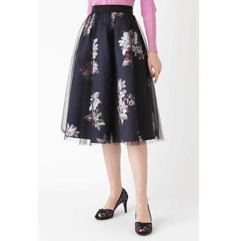 JILLSTUART / ジルスチュアート ◆《Endy ROBE》ヴェロニカ花柄プリントスカート