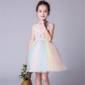 女の子 フォーマルドレス  子供ドレス  卒園式 卒業式 入学式 七五三韓国子供服