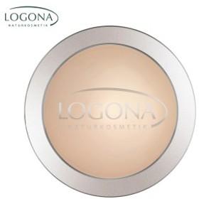 【LOGONA ロゴナ】 プレストパウダー 01ライトベージュ