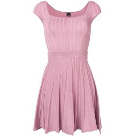 Pinko エンブロイダリー ミニドレス - ピンク