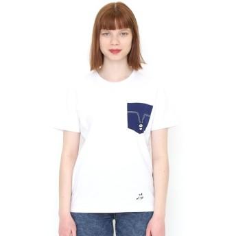 [マルイ]【セール】【ユニセックス】ポケットTシャツ/パンダプレイングウィズステッチ/グラニフ(graniph)