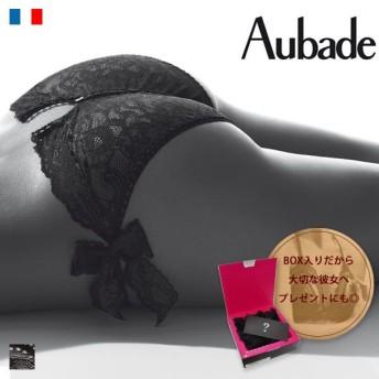 オープンクロッチ ショーツ (オーバドゥ)Aubade Boite a Desir Culotte Coquine レース