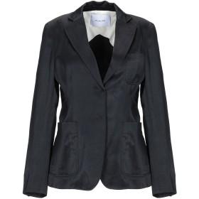 《期間限定 セール開催中》AGLINI レディース テーラードジャケット ブラック 42 レーヨン 71% / 麻 16% / コットン 13%