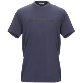 《セール開催中》BIKKEMBERGS メンズ T シャツ パープル XS 95% コットン 5% ポリウレタン