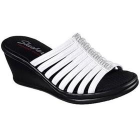 スケッチャーズ(SKECHERS) レディース ファッションサンダル RUMBLERS - HOTSHOT ホワイト 38562 WHT カジュアルサンダル おしゃれ