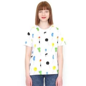 [マルイ]【セール】【ユニセックス】総柄Tシャツ/バルーンビューティフルシャドーパターン/グラニフ(graniph)