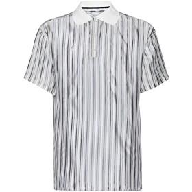 《期間限定セール開催中!》8 by YOOX メンズ ポロシャツ ホワイト XS レーヨン 100% / コットン