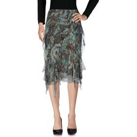 《セール開催中》CLIPS レディース 7分丈スカート ディープジェード 42 シルク 100%
