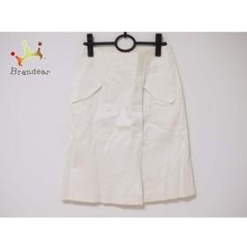 ナラカミーチェ NARACAMICIE スカート サイズ0 XS レディース 白   スペシャル特価 20190610