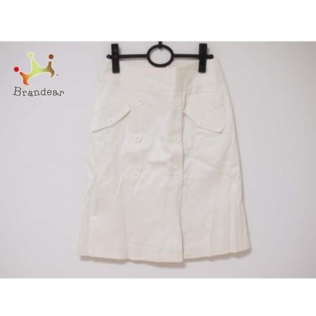 ナラカミーチェ NARACAMICIE スカート サイズ0 XS レディース 白   スペシャル特価 20190610【人気】