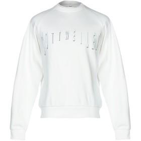 《セール開催中》COTTWEILER メンズ スウェットシャツ アイボリー S コットン 100%