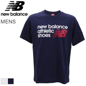 【メール便(18)】 (ニューバランス)NewBalance メンズ NB アスレチックシューズボックス Tシャツ 半袖