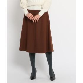 SunaUna(スーナウーナ) カラーフレアスカート
