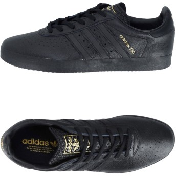 《期間限定 セール開催中》ADIDAS ORIGINALS メンズ スニーカー&テニスシューズ(ローカット) ブラック 11 革 ゴム ADIDAS 350