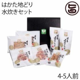 はかた地どり 水炊きセット (4-5人前) ※スープ増量タイプ(600g×4)  条件付き送料無料