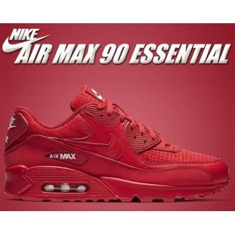 【ナイキ エアマックス 90】NIKE AIR MAX 90 ESSENTIAL university red/white スニーカー メンズ レッド 赤 エッセンシャル aj1285-602