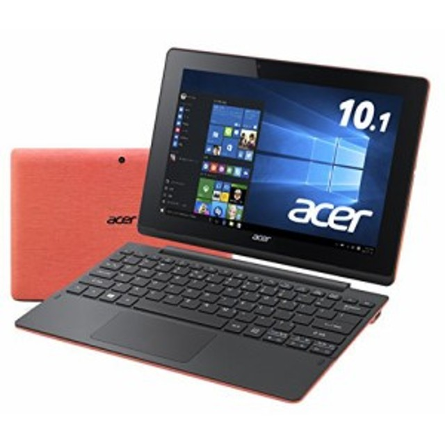 Acer 2in1 タブレット Aspire Switch 10 E SW3-016-F12D/RF /Windows 10/10(中古品)