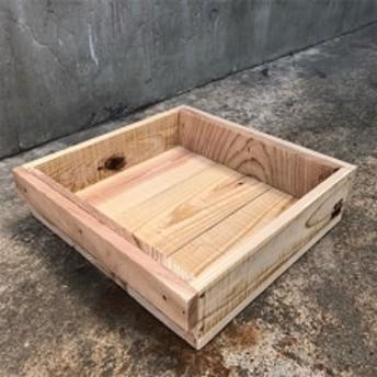 木箱(りんご箱)Fサイズ 1箱 31cm×31cm×7.7cm(おおさか 河内材 無塗装)