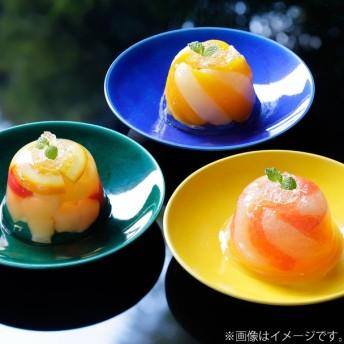 内祝い 京都吉兆 フルーツゼリー寄せ3個入