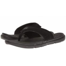 SKECHERS スケッチャーズ メンズ 男性用 シューズ 靴 サンダル Thong Sandal w/ Mesh Black【送料無料】