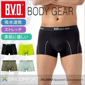 メッシュレギュラーボクサーパンツ BVD BODY GEAR 吸水速乾 ストレッチ メンズ スポーツ