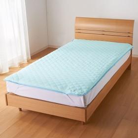 シングル(テンセルTM &ガーゼ寝具シリーズ さらさら敷きパッド) 674816