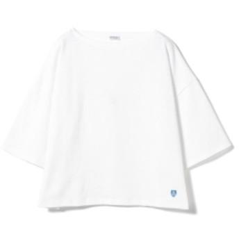 ORCIVAL / ワイドコットンロード 19SS レディース Tシャツ WHITE 1