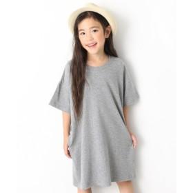[マルイ]【セール】子供服 ワンピース キッズ 韓国子供服 BIGシルエットTシャツワンピース 女の子/デビロック(devirock)