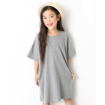 [マルイ] 子供服 ワンピース キッズ 韓国子供服 BIGシルエットTシャツワンピース 女の子/デビロック(devirock)