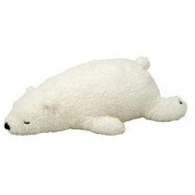 抱き枕 ねむねむ 抱きまくらM WHITE(シロクマのラッキー) 28961-11