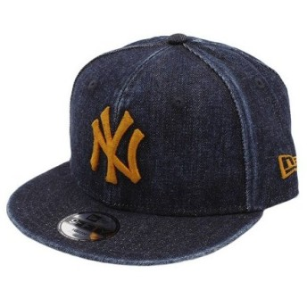 ニューエラ(NEW ERA) ユース 9FIFTY ジャパンデニム ニューヨーク・ヤンキース キャップ 11899029 (Jr)