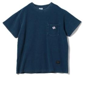 【予約】JE MORGAN × BEAMS LIGHTS / 別注 鹿の子 インディゴ ポケットTシャツ メンズ Tシャツ INDIGO M