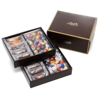 リンツ Lindt チョコレート チョコ スイーツ ギフト 焼き菓子ギフト フィナンシェ10個・リンドール40個