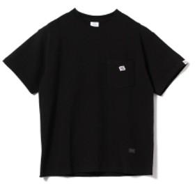 【一部予約】JE MORGAN × BEAMS LIGHTS / 別注 鹿の子 ポケットTシャツ メンズ Tシャツ BLACK S
