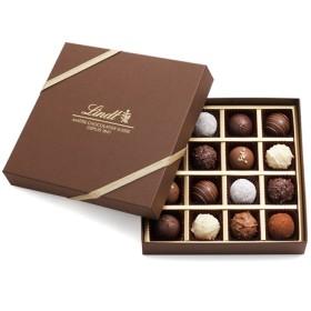 リンツ Lindt チョコレート チョコ スイーツ ギフト トリュフ ギフトボックス 16個入り