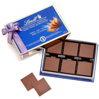 リンツ Lindt チョコレート チョコ スイーツ ギフト スイスシン ミルク 125g