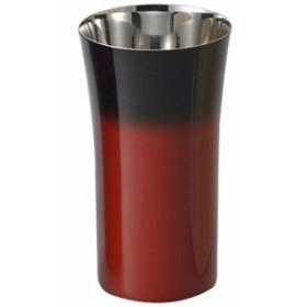 アサヒ 漆麿(シーマ) 伝統工芸士 荒川文彦作 赤彩シングルカップS SCS-S602