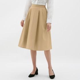 (GU)カラーフレアスカート BEIGE M