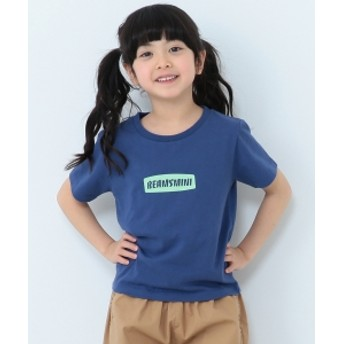 BEAMS mini / ロゴTシャツ (90~150㎝) キッズ Tシャツ D.BLUE 100