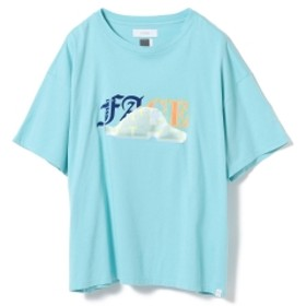 FACETASM / ミックス フェイス ビッグ Tシャツ レディース Tシャツ BLUE 1