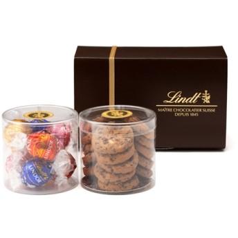リンツ Lindt チョコレート チョコ スイーツ ギフト リンツ メートルショコラティエ 焼き菓子 (リンドールとミニサブレナチュール)