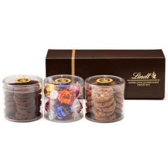 リンツ Lindt チョコレート チョコ スイーツ ギフト お中元 リンツ メートルショコラティエ 焼き菓子 (リンドール&ミニサブレ)