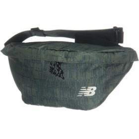 ニューバランス(New Balance) ウエストバッグ ミネラルグリーン JABP9249 MGN 【ウエストポーチ ヒップバッグ ボディバッグ 鞄】