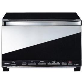ツインバードミラーガラス オーブントースター ブラック TS-D057B